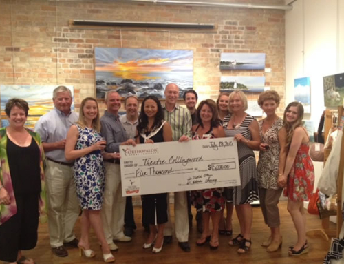 Theatre Collingwood receives $5000 from Orthopaedic Sport Institute