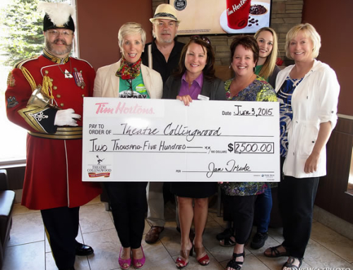 Theatre Collingwood Receives Funding from Tim Hortons