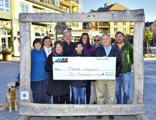 Theatre Collingwood Thanks Blue Mountain Resort For Upcoming 2016 Sponsorship