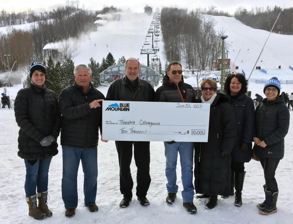 Blue Mountain Resort Supports Theatre Collingwood's 2017 Theatre Season with a $10,000 Sponsorship